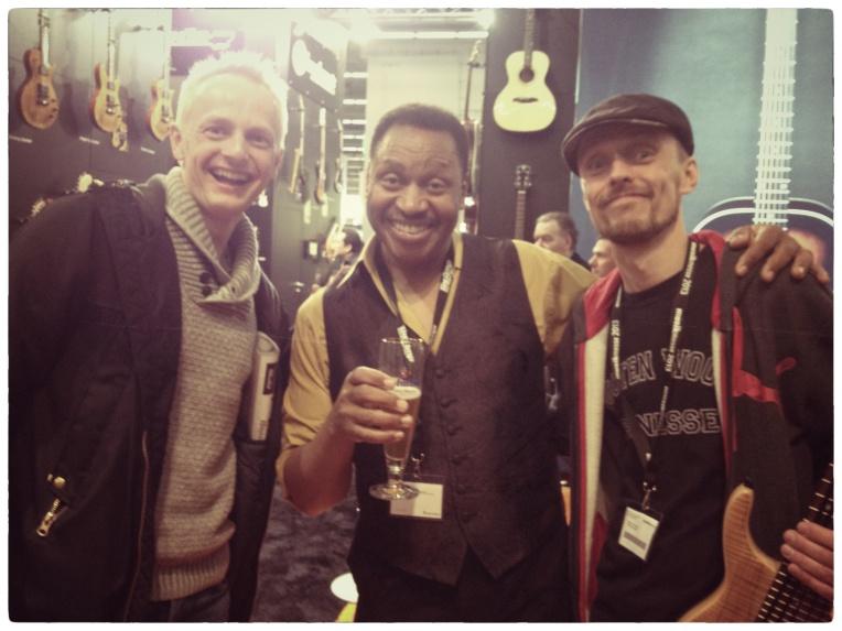 Sune R., Gary Grainger and me
