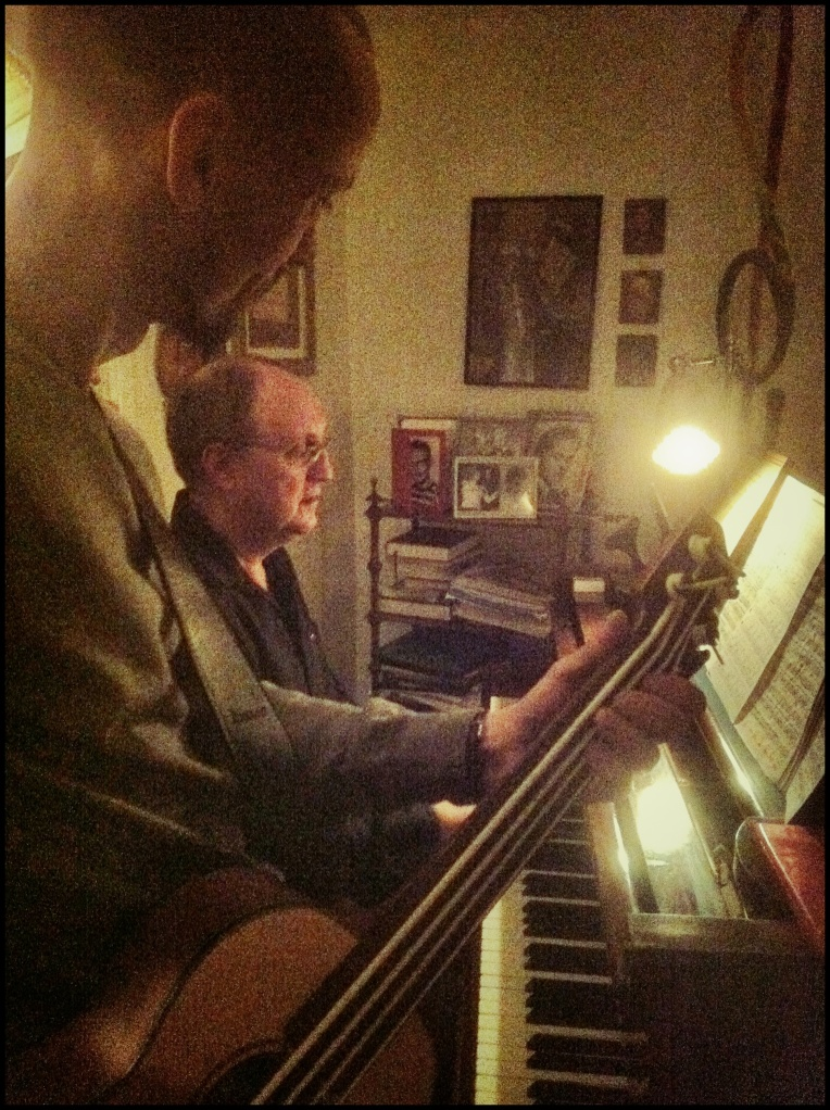 Me and Lars playing some jazz standards!