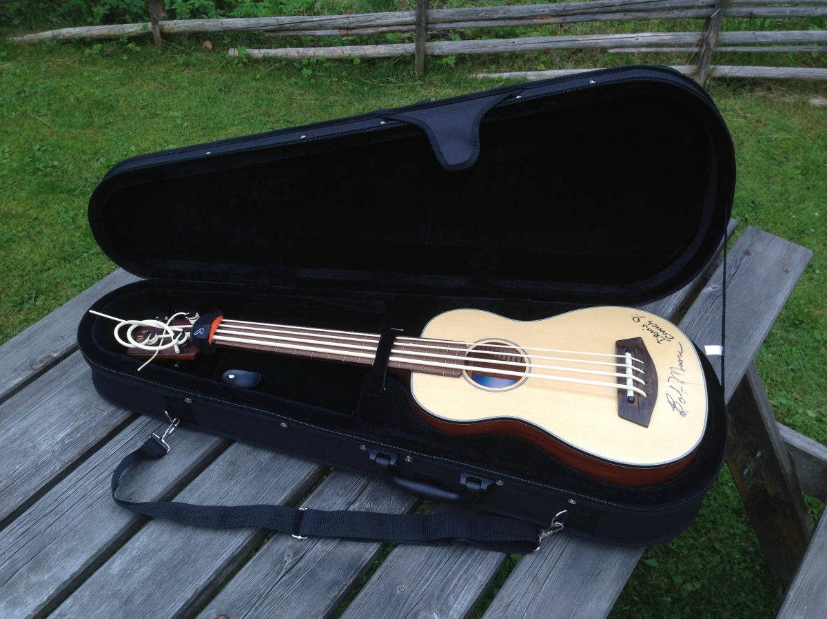 Ubass Cases: Different options for the acoustic/electric Ubass