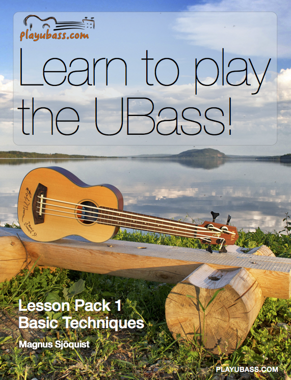 Learn to play the ubass - cover 72dpi