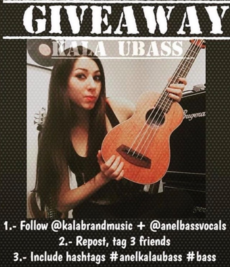 Anel Orantes Pedrero and Kala are giving away a uBass.