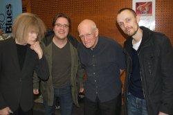 Carla Bley, Daniel Björnmo, Steve Swallow and me Sweden, 2009