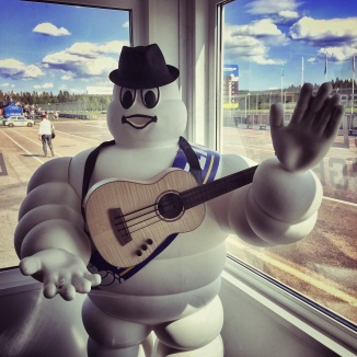 Mr Michelin loves ubass!